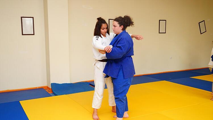 Kadına şiddet içeren filmden etkilendi judoya başladı