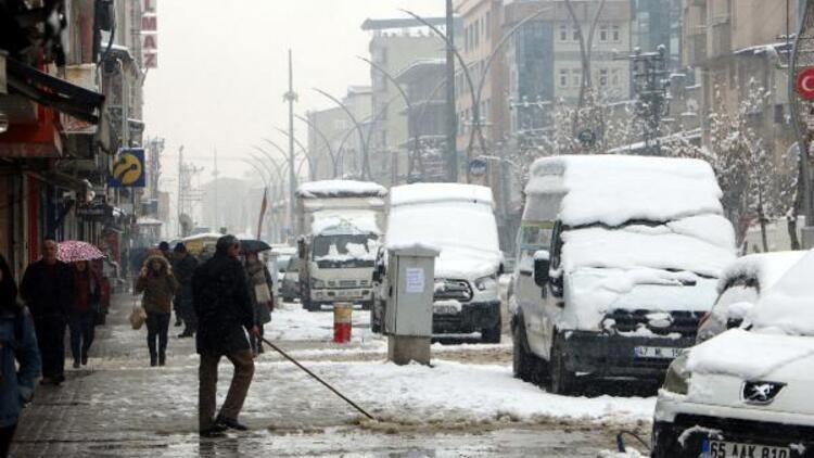 Yüksekova'da kar ve sis hayatı olumsuz yönde etkiliyor