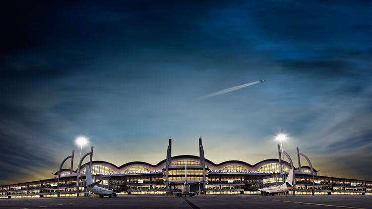 Sabiha Gökçen'de yılın 11 ayında 32 milyon yolcuya hizmet verildi