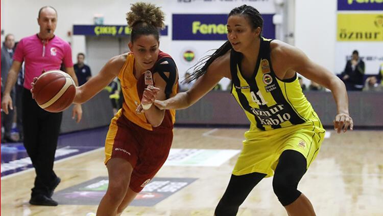 Kadınlar Basketbol derbisinde Fenerbahçe, Galatasaray'ı mağlup etti