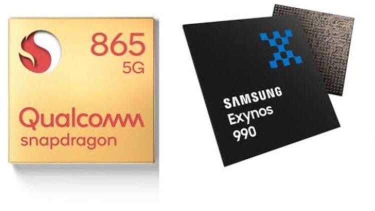 İşlemciler yarışıyor: Snapdragon 865 mi Exynos 990 mı