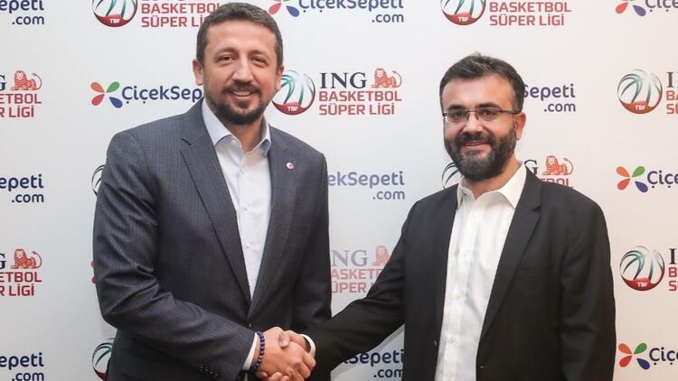 Çiçeksepeti.com, ING Basketbol Süper Ligi'nin resmi sponsoru oldu