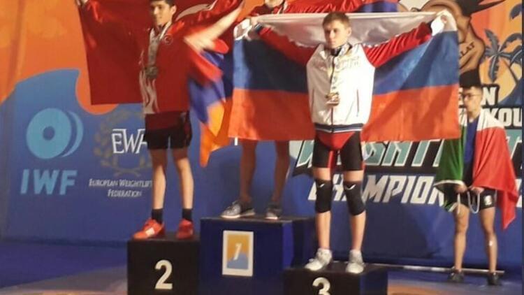 Avrupa Halter Şampiyonası'nda 7 madalya