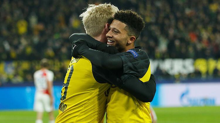 Borussia Dortmund 2-1 Slavia Prag
