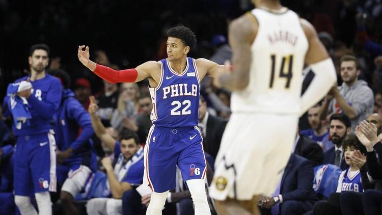 NBA'de gecenin sonuçları   Philadelphia 76ers sahasında yine kaybetmedi!