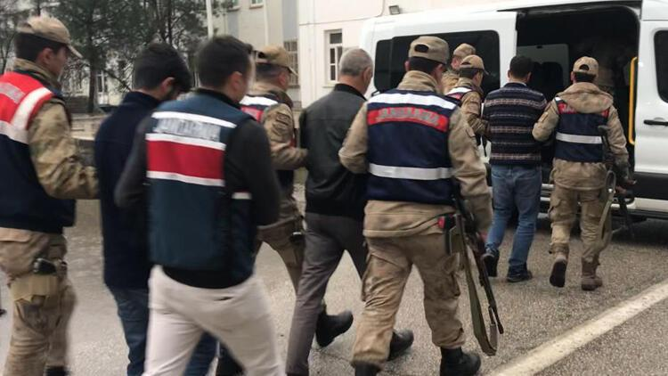 Diyarbakır'ın 6 ilçesinde terör operasyonu: 17 gözaltı