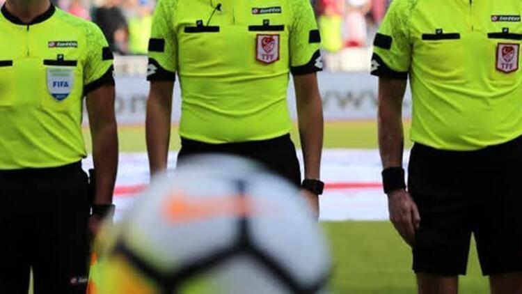 TFF 1. Lig'de 15. hafta maçlarını yönetecek hakemler açıklandı