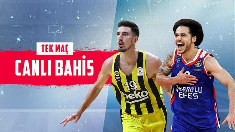 Euroleague'deki Türk Derbisi'ne Misli.com'da TEK MAÇ oyna! iddaa'nın favorisi...