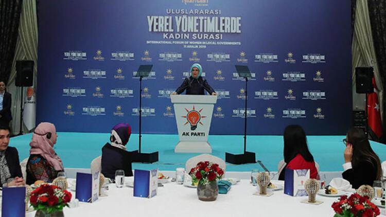 Emine Erdoğan: İnsanın içindeki şiddet eğiliminin terbiye yeri ailedir