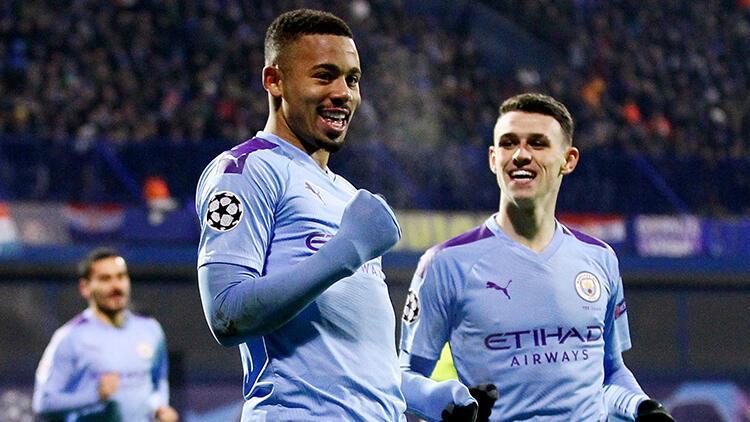 Manchester City, Zagreb'te 4 golle geri döndü!