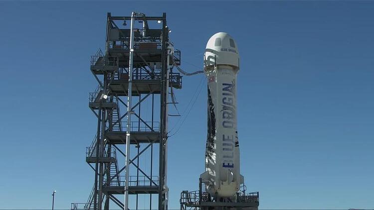 Blue Origin 'yeniden kullanılabilir' roket ve kapsülle 6. fırlatışını yaptı