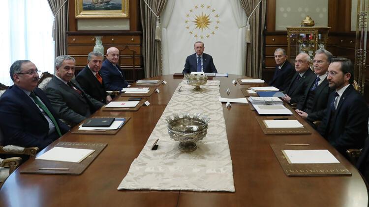 Cumhurbaşkanlığı Yüksek İstişare Kurulu, Erdoğan başkanlığında toplandı