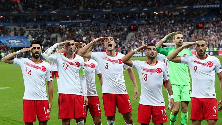 UEFA'dan asker selamı kararı! A Milli Takım...