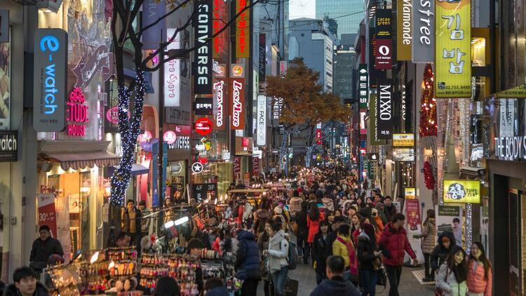 Alışveriş cenneti: Seul