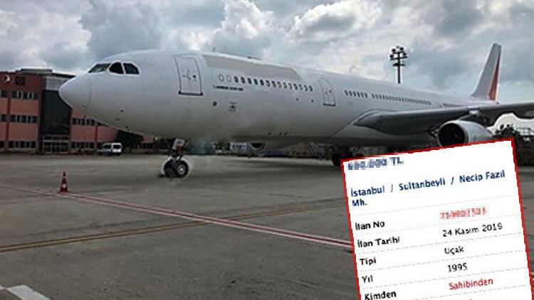 Sahibinden 600 bin liraya satılık uçak!