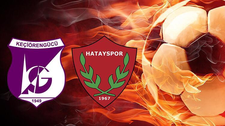 Keçiörengücü Hatayspor maçı ne zaman saat kaçta hangi kanalda? Liderlik devam edecek mi?