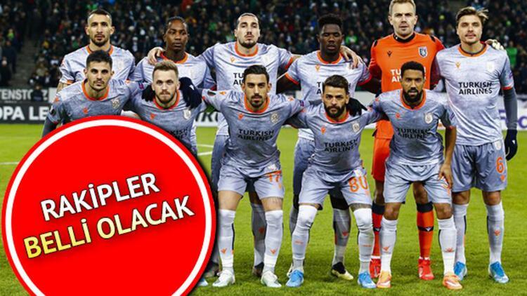 Başakşehir'in rakibi belli olacak | UEFA Avrupa Ligi kura çekimi ne zaman?