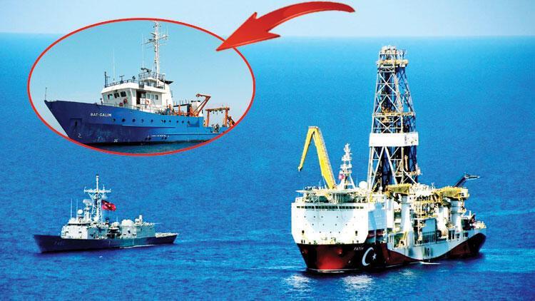 KKTC sularına giren İsrail gemisi çıkarıldı