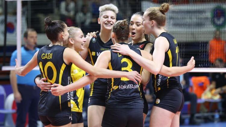 VakıfBank, CEV Şampiyonlar Ligi'nde 200. maçına çıkacak