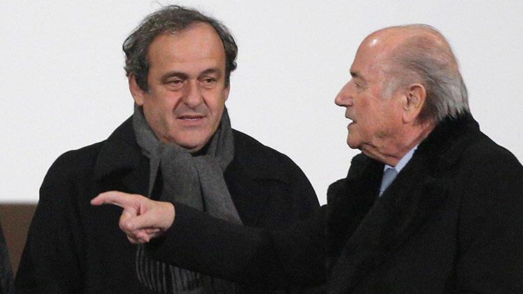 FIFA'dan Platini ve Blatter'e dava!
