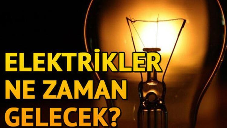 Ankara ve İstanbul'da elektrikler ne zaman gelecek? BEDAŞ ve Başkent EDAŞ elektrik kesintisi programı