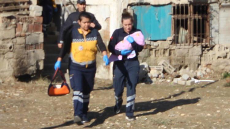 Sığındığı evde 3 aylık bebeğini bırakıp kaçtı