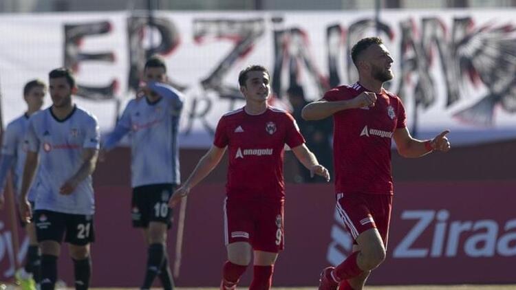 24 Erzincanspor 2-0 Beşiktaş