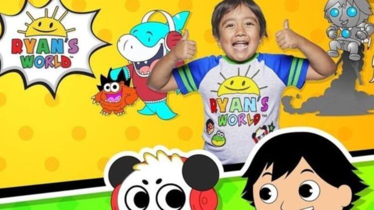 8 yaşındaki Ryan yine en çok kazanan YouTuber oldu