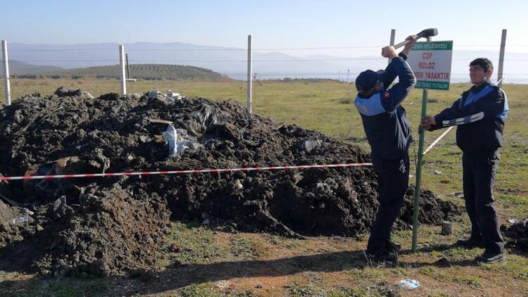 İznik'te kimyasal atık paniği! 10 kamyon dökmüşler…