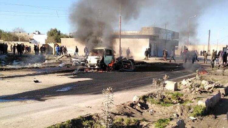 PKK/YPG'li teröristler saldırdı: Ölüler var