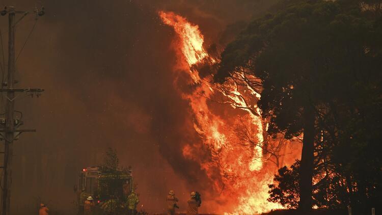 Avustralya'daki yangınlar nedeniyle yeni alarm