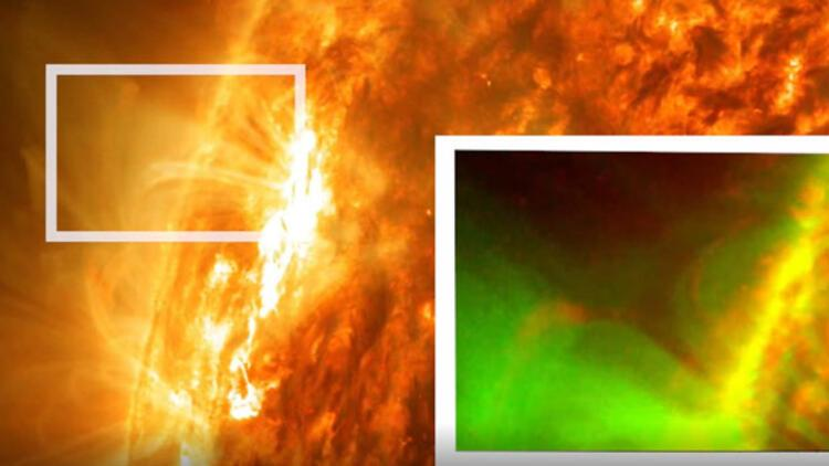 NASA, çok büyük bir Güneş patlaması tespit etti