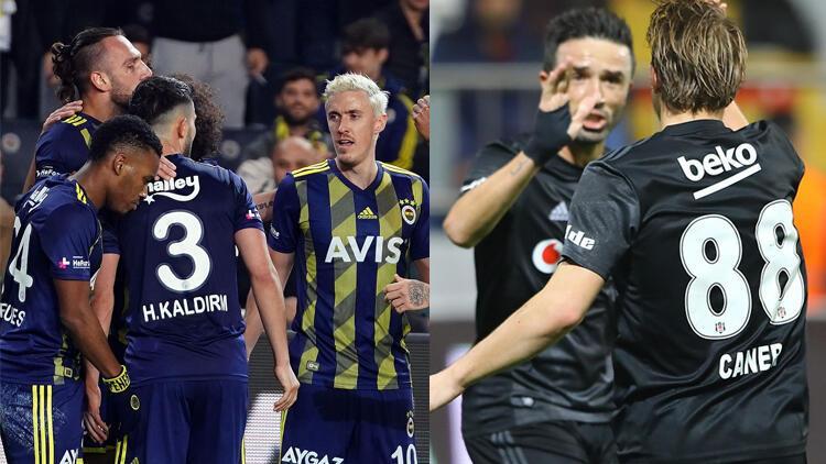 Fenerbahçe ve Beşiktaş'tan 7'şer gollü galibiyet