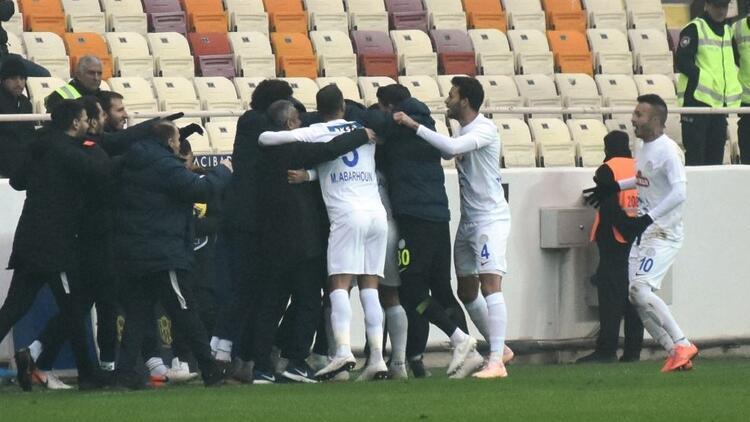 Yeni Malatyaspor 0-2 Çaykur Rizespor
