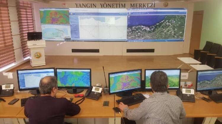 Orman Genel Müdürlüğü: Karadeniz'deki yangınların 38'i söndürüldü