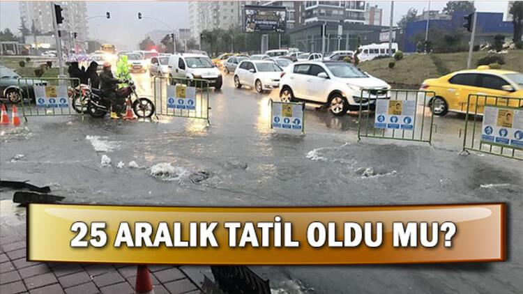 Adana'da okullar yarın tatil mi? Hangi illerde okullar tatil?
