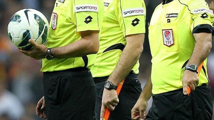 TFF 1. Lig'de ilk yarının son haftasında oynanacak maçları yönetecek hakemler açıklandı