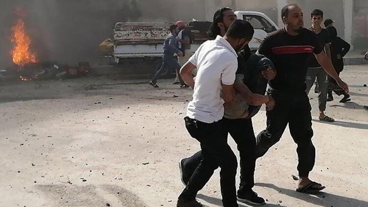 Son dakika haberi: PKK/YPG Cerablus'ta sivilleri hedef aldı: 14 yaralı