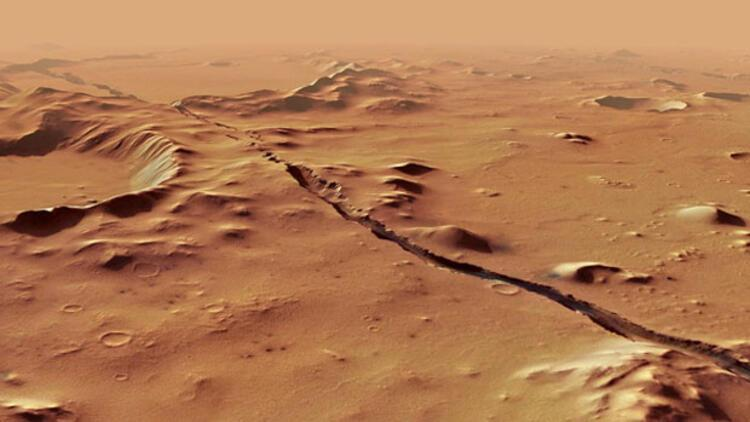 Mars'ta ilk defa aktif fay bölgesi bulundu
