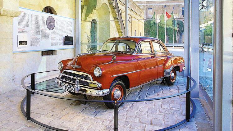 Mardin'in emektar Chevrolet'si müzede