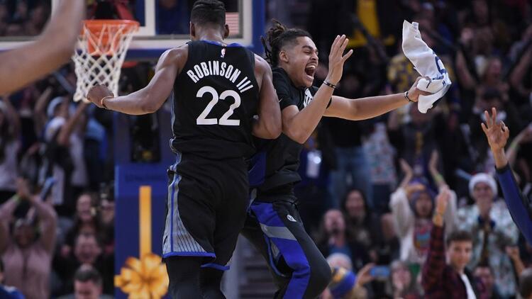 Golden State Warriors'a aşırı sevinç uyarısı