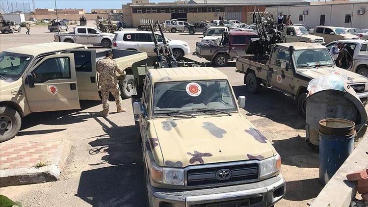 Libya'daki UMH güçlerinin Trablus'ta ilerleyişi sürüyor