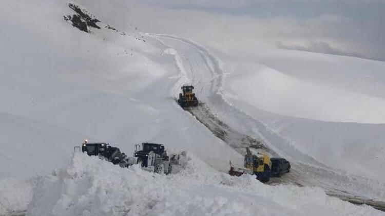 Van, Hakkari ve Bitliste kardan kapanan yollar açılıyor