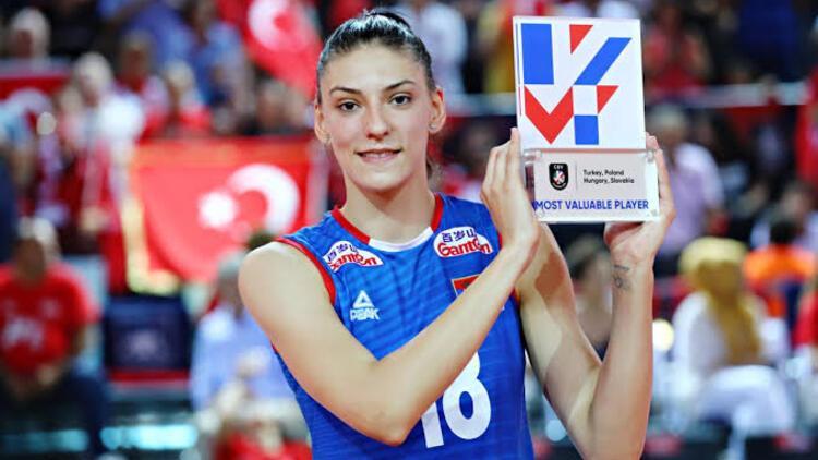 Boskovic Sırbistan'da üst üste ikinci kez yılın kadın sporcusu seçildi
