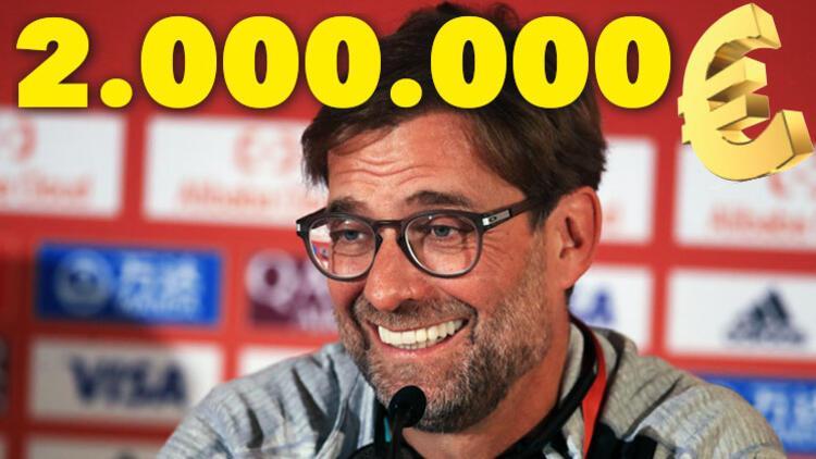 Jürgen Klopp milyonluk anlaşma imzaladı