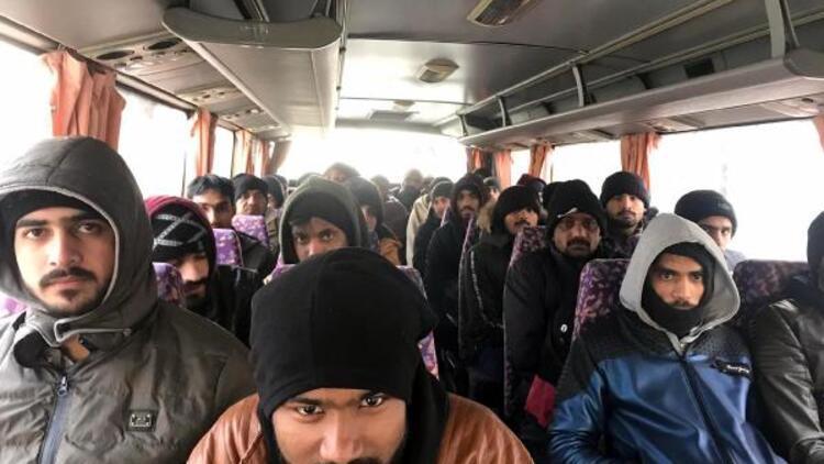 Kaçak göçmenleri, Bulgaristan diye Tekirdağ'da bırakmışlar