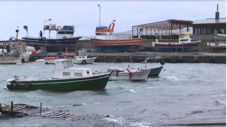 Turuncu alarm etkisini sürdürüyor! Balıkçılar denize açılamadı