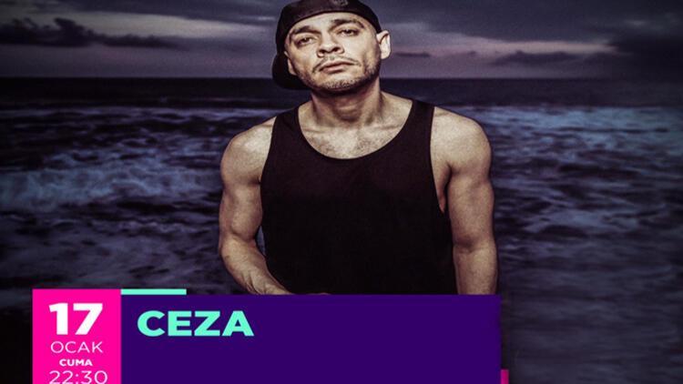"""Türkçe Rap'in Büyük İsmi """"Ceza"""" Ocak'ta Aqua Florya'da!"""