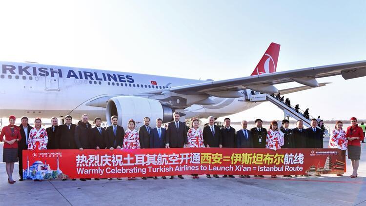 THY, Çin'de Xian uçuşlarına başladı