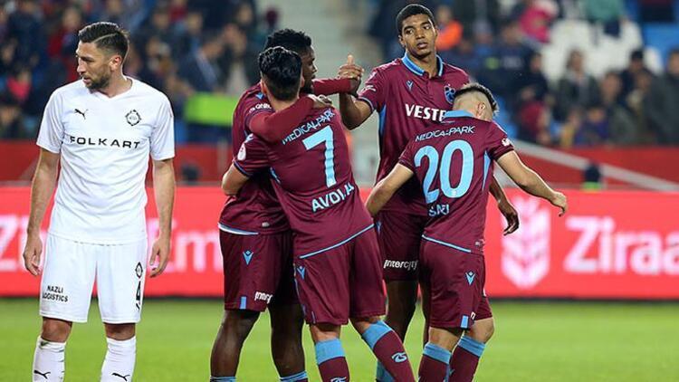 Trabzonspor, 2019 yılında 25 galibiyet aldı